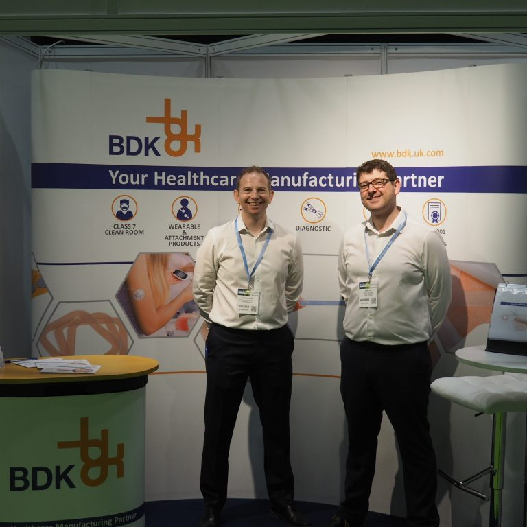 Neil and Mark at the Medtec Conference